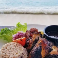 Coral Beach Gallery Jerk Chicken