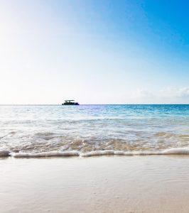 Coral Beach Boat