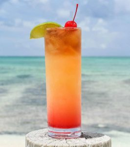 Coral Beach Rum Punch